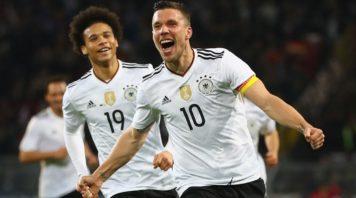عملکرد پودولسکی بازیکن آلمان در دیدار برابر انگلیس