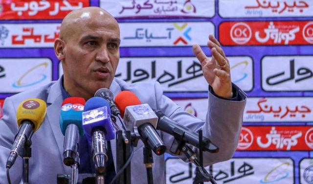 علیرضا منصوریان در جریان فوتبال درون تیمی مصدوم شد