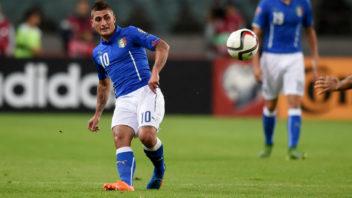 عملکرد مارکو وراتی بازیکن ایتالیا در دیدار برابر آلبانی