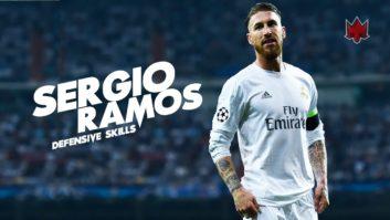 گل های راموس برای رئال مادرید در فصل 2016/2017