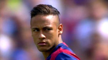 عملکرد نیمار بازیکن بارسلونا در دیدار برابر والنسیا