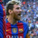 عملکرد مسی بازیکن بارسلونا در دیدار برابر والنسیا