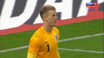 عملکرد جو هارت بازیکن انگلیس در دیدار برابر آلمان