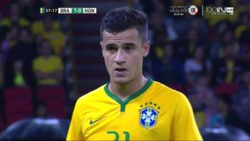 عملکرد کوتینیو بازیکن برزیل در دیدار برابر اروگوئه