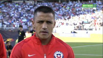 عملکرد سانچز بازیکن شیلی در دیدار برابر آرژانتین