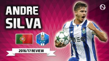 عملکرد و مهارت های آندره سیلوا ستاره تیم پرتغال در فصل 2016/2017