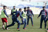 گزارش تمرین تیم فوتبال پرسپولیس