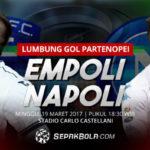 خلاصه بازی امپولی 2-3 ناپولی سری آ ایتالیا