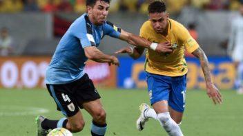 عملکرد نیمار بازیکن برزیل در دیدار برابر اروگوئه