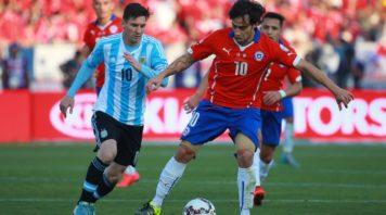 خلاصه بازی آرژانتین 1-0 شیلی مقدماتی جام جهانی منطقه آمریکای جنوبی