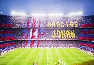 بارسلونا اسپانیا کلیپ جالب از اولین سالگرد یوهان کرایف یوهان کرایف