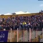 شعار هواداران داماش برای جلوگیری از فحاشی در استادیوم ها