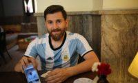 رضا پرستش به بدل ایرانی لیونل مسی