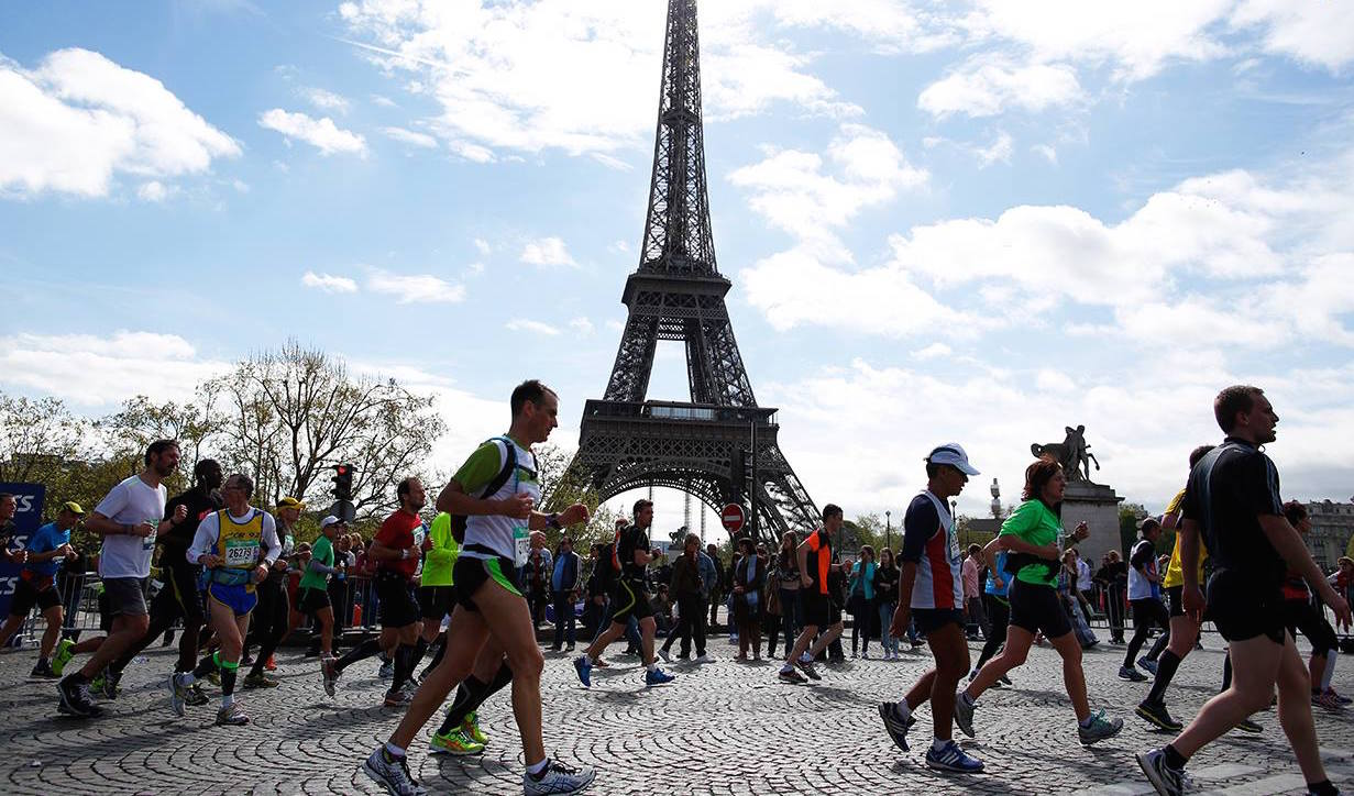 ماراتن پاریس ؛ 41امین مسابقه دوی ماراتن پاریس و قهرمانی زن و شوهر کنیایی