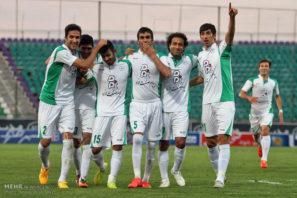 گل محمد حسینی بازیکن ذوب آهن یه پرسپولیس