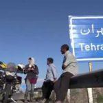 حضور دختر موتورسوار فرانسوی در ایران