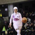 بازی نمادین بسکتبال زنان در تهران