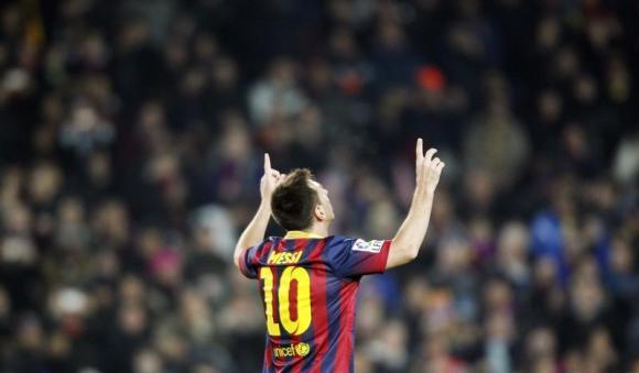 10 خوشحالی بعد از گل دیدنی از فوق ستاره بارسلونا مسی ؛ پارس فوتبال اولین خبر گزاری فوتبال ایران