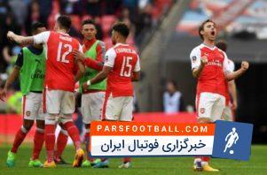 خلاصه بازی آرسنال 2-1 منچسترسیتی نیمه نهایی جام حذفی
