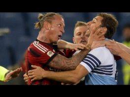 درگیری های ستارگان فوتبال با یکدیگر