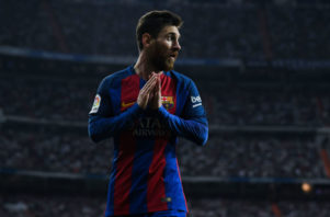 عملکرد مسی بازیکن بارسلونا در دیدار برابر اوساسونا