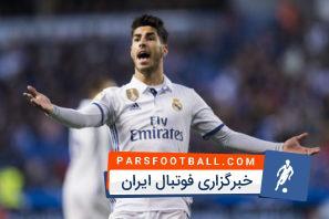 عملکرد آسنسیو بازیکن رئال مادرید در دیدار برابر والنسیا