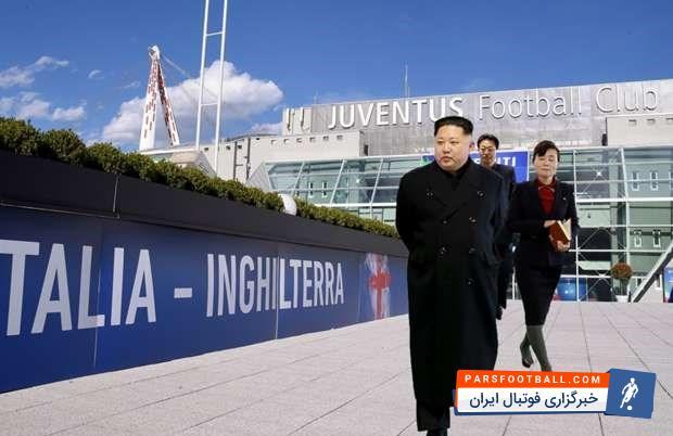رهبر کره شمالی - فوتبال