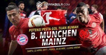 خلاصه بازی بایرن مونیخ 2-2 ماینز بوندس لیگا آلمان