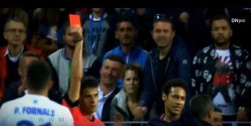 عملکرد نیمار بازیکن بارسلونا در دیدار برابر مالاگا