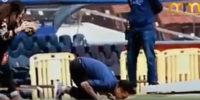 عکس العمل های دنی آلوز در دو دیدار برابر بارسلونا