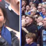 واکنش های طرفداران چلسی و تاتنهام در یک قاب