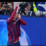 تقلید خوشحالی های بعد از گل بازیکنان بارسلونا در الکلاسیکو توسط هواداران