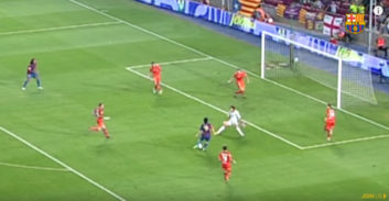 14 گل فوق ستاره بارسلونا مسی به اوساسونا