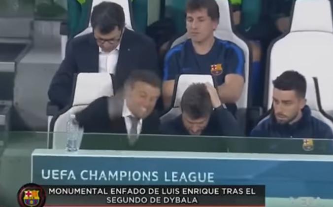 عصبانیت شدید انریکه بعد از گل زنی دیبالا به بارسلونا ؛ پارس فوتبال اولین خبر گزاری فوتبال ایران