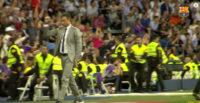 واکنش سرمربی و نیمکت بارسلونا بعد از گل دوم مسی