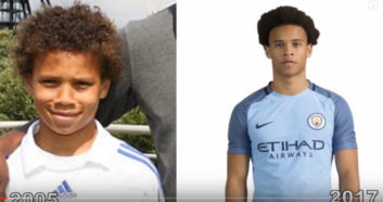 روند تغییرات چهره سانه بازیکن جوان منچسترسیتی