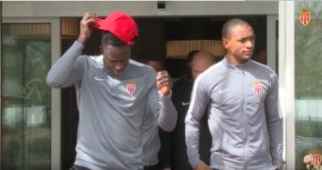بازیکنان موناکو آماده رویارویی برابر دورتموند