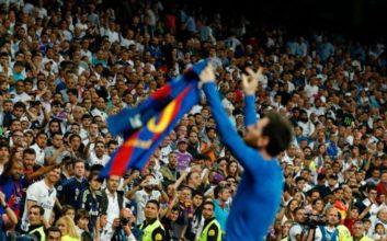 عملکرد مسی بازیکن بارسلونا در دیدار برابر رئال مادرید