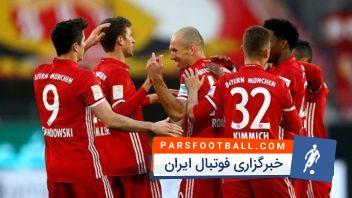 خلاصه بازی وولفسبورگ مقابل بایرن مونیخ