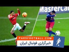 50 کنترل توپ تماشایی تاریخ فوتبال