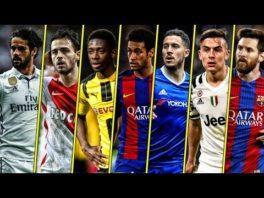 10 بازیکن برتر از لحاظ دریبل زدن در فصل 2016/2017