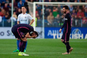 عملکرد مسی بازیکن بارسلونا در دیدار برابر مالاگا