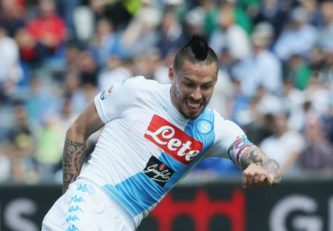 خلاصه بازی ساسولو 2-2 ناپولی سری آ ایتالیا