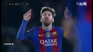 عملکرد مسی بازیکن بارسلونا در دیدار برابر سوسیه داد