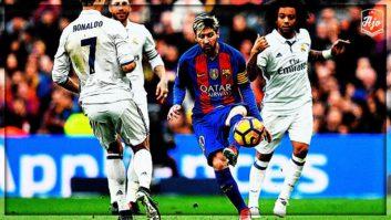 5 لحظه تماشایی از هنرنمایی مسی فوق ستاره بارسلونا در ال کلاسیکو ها
