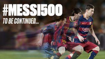 به مناسبت 500 گله شدن فوق ستاره بارسلونا مسی