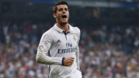 18 گل موراتا برای رئال مادرید تا این مقطع از فصل 2016/2017