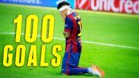 100 گل نیمار برای بارسلونا