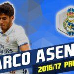 گل ها و مهارت های آسنسیو ستاره جوان رئال مادرید در فصل 2016/2017