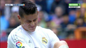 عملکرد خامس بازیکن رئال مادرید در دیدار برابر والنسیا